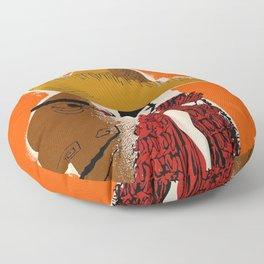 Vintage Travel Ad Cuba Floor Pillow