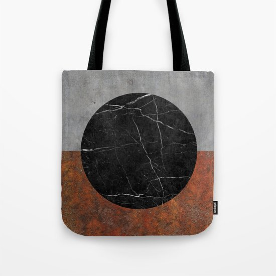 Abstract - Marble, Concrete, Rusted Iron Tote Bag