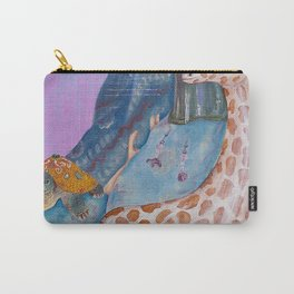 Turtle and the Giraffe Carry-All Pouch