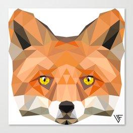 Fox Face Canvas Print