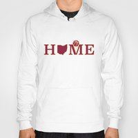 cleveland Hoodies featuring Cleveland Home by DLTNM