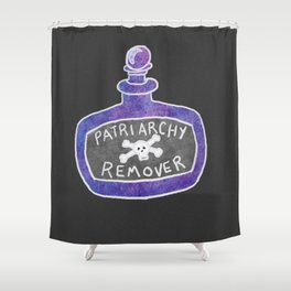 Patriarchy Remover Potion Shower Curtain