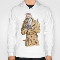 rorschach Hoodies featuring Rorschach by Of Newts and Nerds