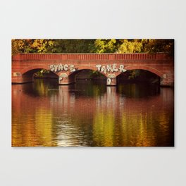 Stace Taker Canvas Print