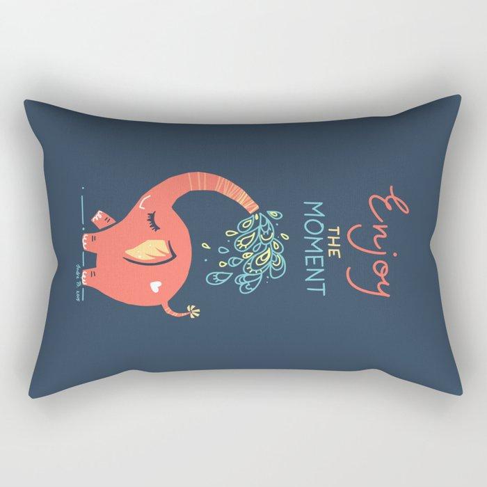 Enjoy the Moment Rectangular Pillow
