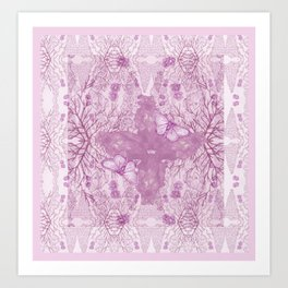 Bear Kaleidoscope ♡ Art Print