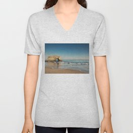 Natural Bridges State Beach ... Unisex V-Neck