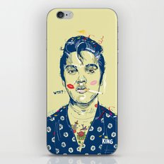 WTF? ELVIS MORNING PARTY iPhone Skin