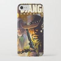 django iPhone & iPod Cases featuring Django by Don Kuing