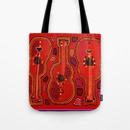 Flamenco Guitars Tote Bag