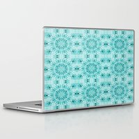 teal Laptop & iPad Skins featuring Teal by lillianhibiscus