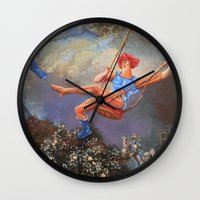 thundercats Wall Clocks featuring Thunder Swing by Hillary White
