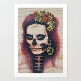 Mother Bonehead Art Print