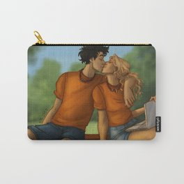 Percy and Annabeth kiss Carry-All Pouch