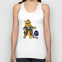 pooh Tank Tops featuring Doctor Pooh by Murphis the Scurpix