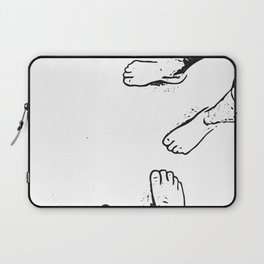 Feet on the sand Laptop Sleeve