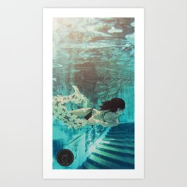 Seeing is believing  Art Print