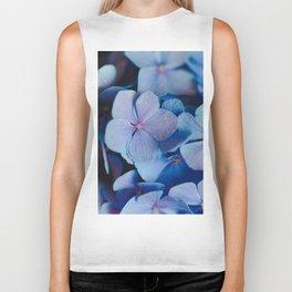 blue flora #society6 #decor #buyart Biker Tank