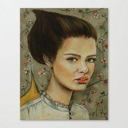 The Opera Singer Canvas Print