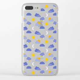 Weather Forecast Clear iPhone Case