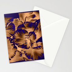 flowers through a pane Stationery Cards
