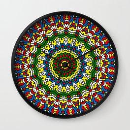Fun Kaleidoscope Wall Clock