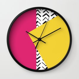 Decorative Pillow Cover Wall Clock