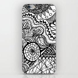 Doodle2 iPhone Skin