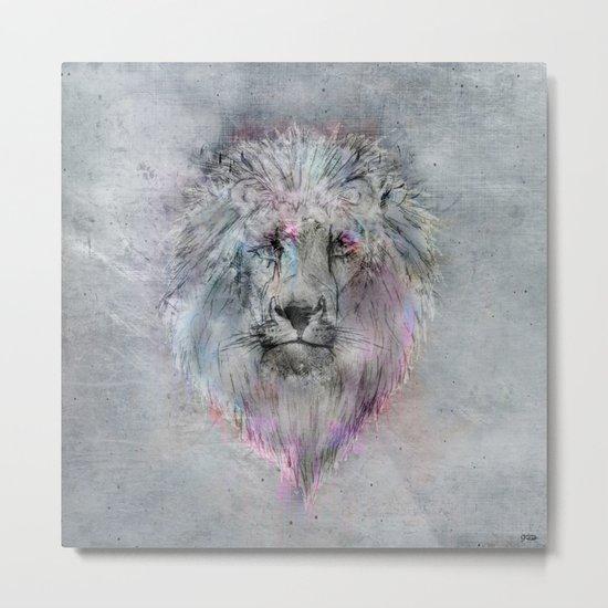 Heart like a Lion Metal Print