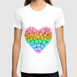 LGBT Heart, LGBT pride, LGBT pride heart, LGBT Wedding gift, Love poster, Love heart, Love forever T-shirt