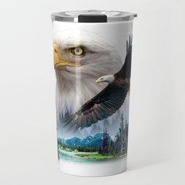 Bald Eagle River Travel Mug