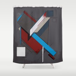 Thoughts as Objects Shower Curtain