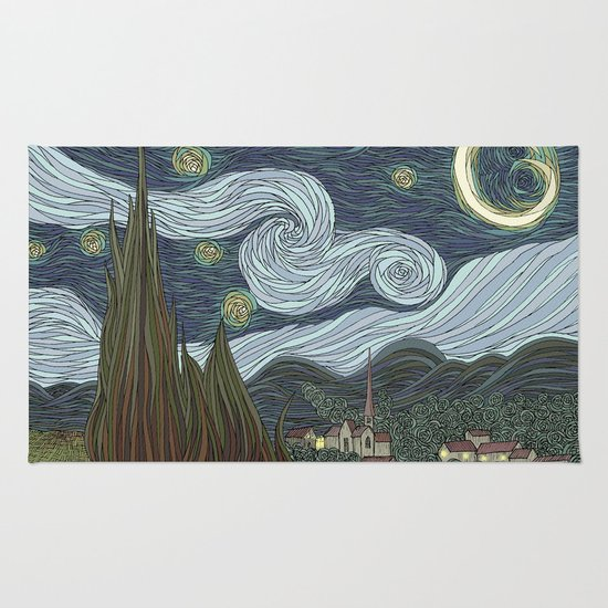 starry night Rug