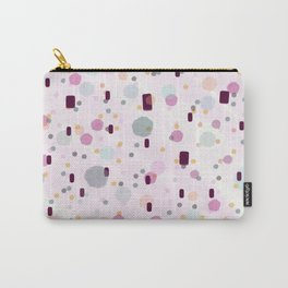 Watercolor Splash Effect Pattern Carry-All Pouch