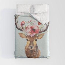 Bohemian Deer 2 Duvet Cover