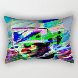 raw Linda Rectangular Pillow