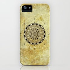Compass Rose iPhone (5, 5s) Slim Case
