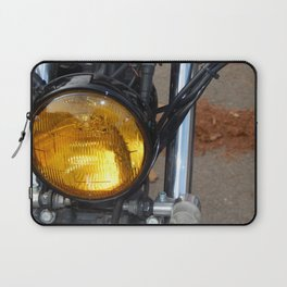Retro motorcycle and bike antique parts and elements Laptop Sleeve