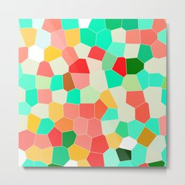 Abstract Study - Mosaics Metal Print