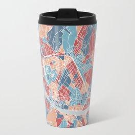 Florence map, Italy Travel Mug