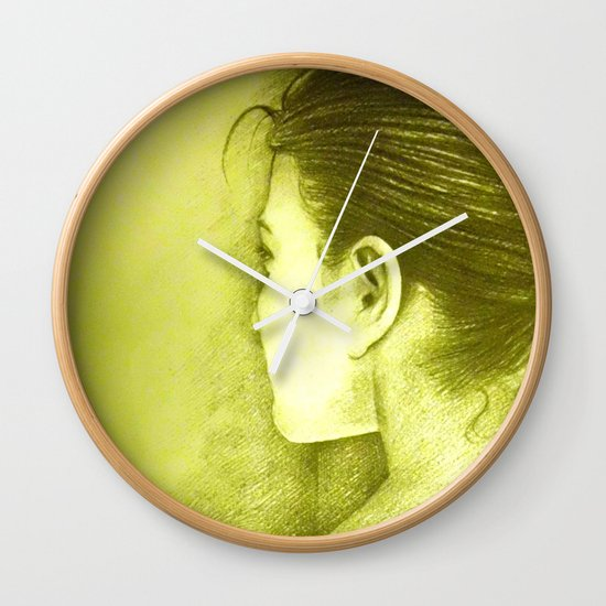 BEHIND Wall Clock