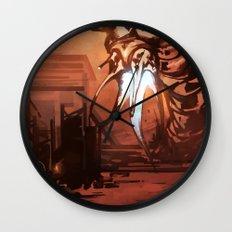 Grunt VS Maw Wall Clock