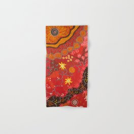 Aboriginal summer Hand & Bath Towel