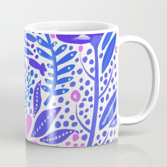 Garden – Indigo Palette Coffee Mug