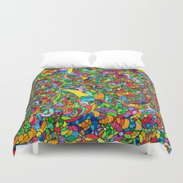 Fossil Bed Duvet Cover