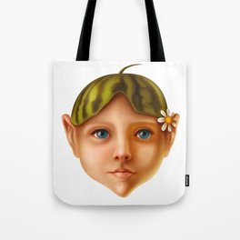 Watermelon Child Tote Bag