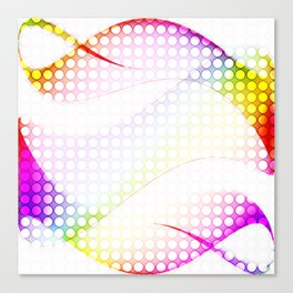 abstract colorful tamplate Canvas Print