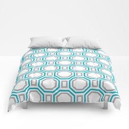Blue Harmony II Symmetry Comforters