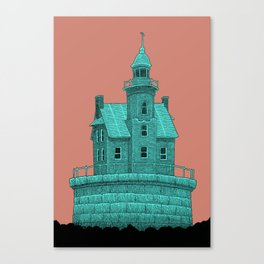 empty lighthouse Canvas Print