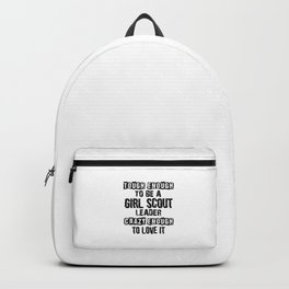 Scout Girl Backpack
